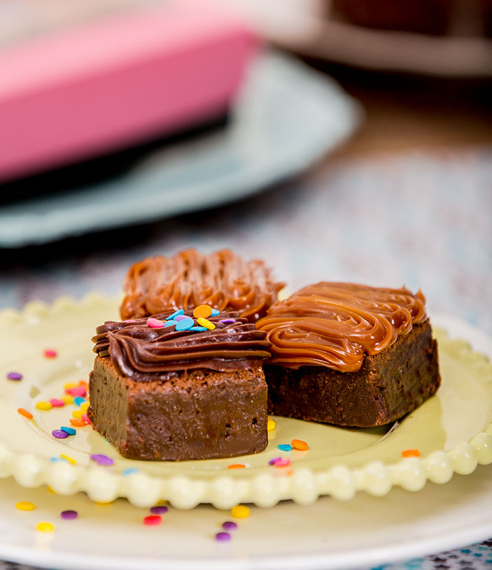 Mini Brownies por 12 unidades